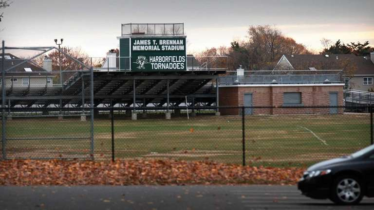 This is a view of the Harborfields High