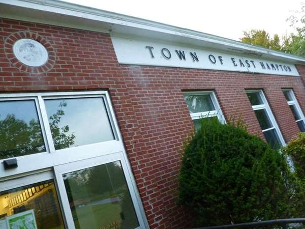 East Hampton Town Hall in East Hampton on