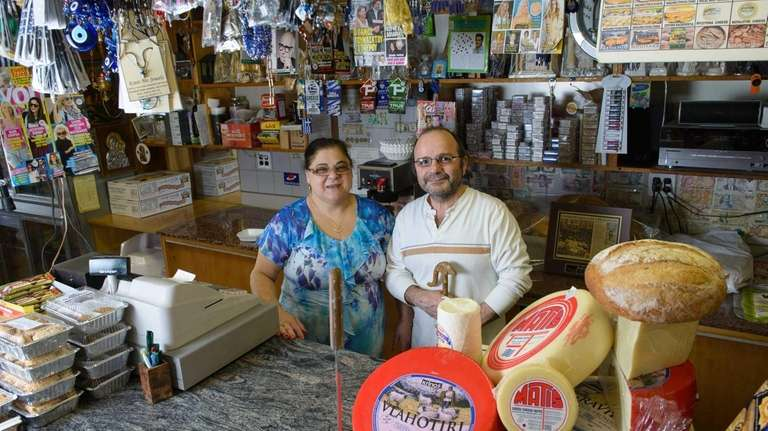 George and Chris Miglis, owners of New Bakaliko,
