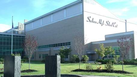 This file photo shows Sachem High School East