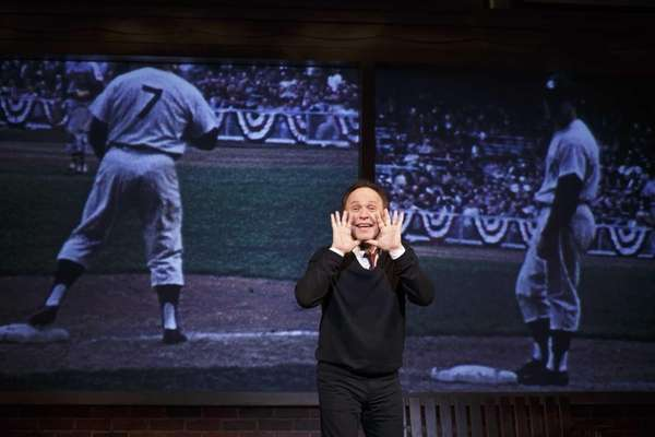 "Billy Crystal stars in ""700 Sundays"" on Broadway."
