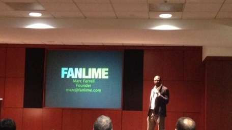 Startup Fanlime, which created an online social tool