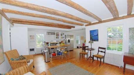 The circa 1788 Shelter Island home, listed for