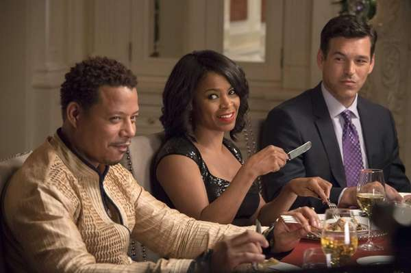 From left, Terrence Howard, Nia Long and Eddie