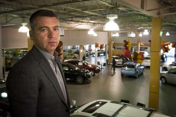 Five Towns Nissan owner Alex Korchmar, whose Inwood