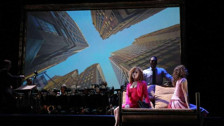 From left, Bernadette Peters , Grasan Kingsberry and