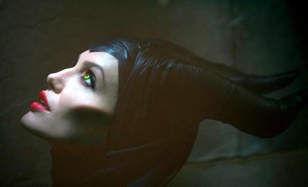 Angelina Jolie stars as the icy villan from