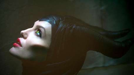 Angelina Jolie stars as the icy villain from