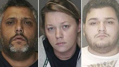 Three members of a Lindenhurst family suspected of