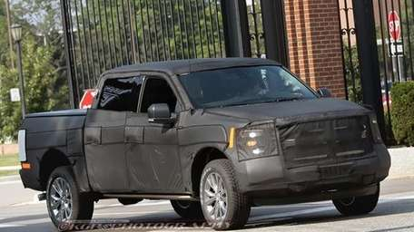 More 2015 Ford F-150s are being spied in