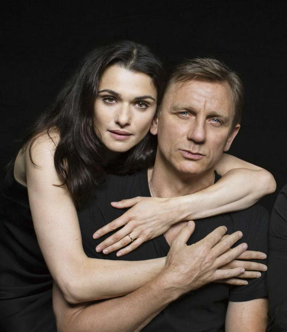 Real-life couple Rachel Weisz and Daniel Craig played