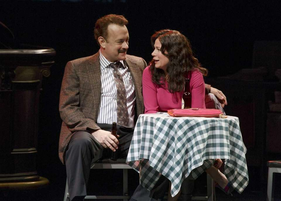 Tom Hanks and Maura Tierney performed in Nora