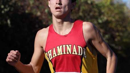 Chaminade's Sean Kelly finished in sixth place at