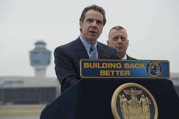 From left to right: New York State Governor