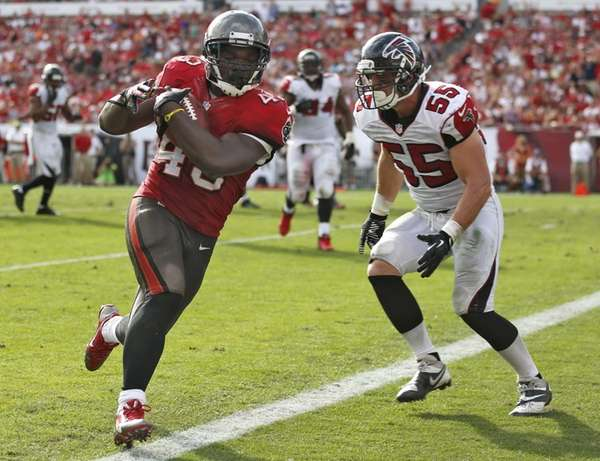 Tampa Bay Buccaneers running back Bobby Rainey (43)