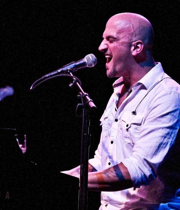 Michael DelGuidice and his band Big Shot will