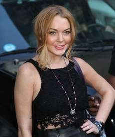 Lindsay Lohan made a guest appearance on the