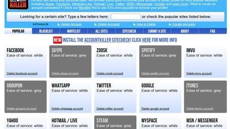 Visit Accountkiller.com to cancel or unsubscribe from other
