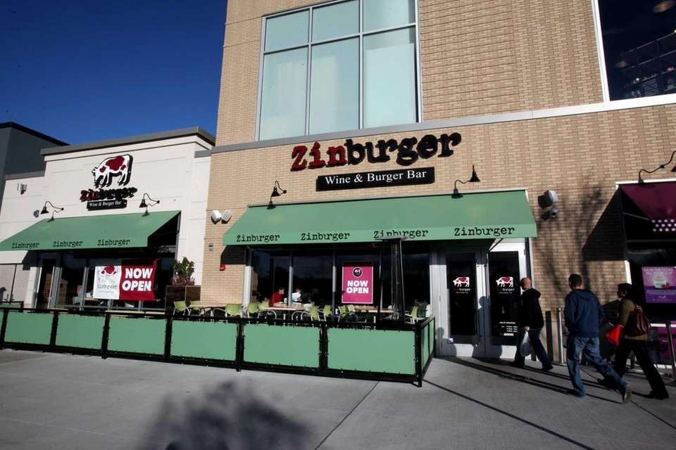 Unlike some burger places, Long Island newcomer Zinburger,