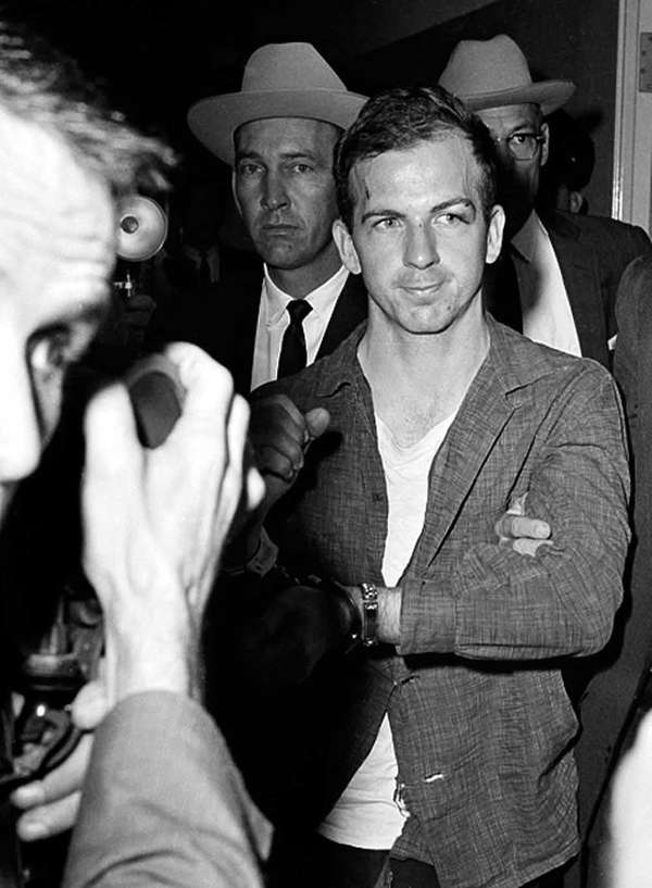 Lee Harvey Oswald, who assassinated President John F.