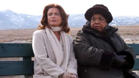 Roma Downey as Monica and Della Reese as