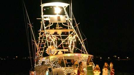 The Patchogue Boat Parade will be on Sunday,