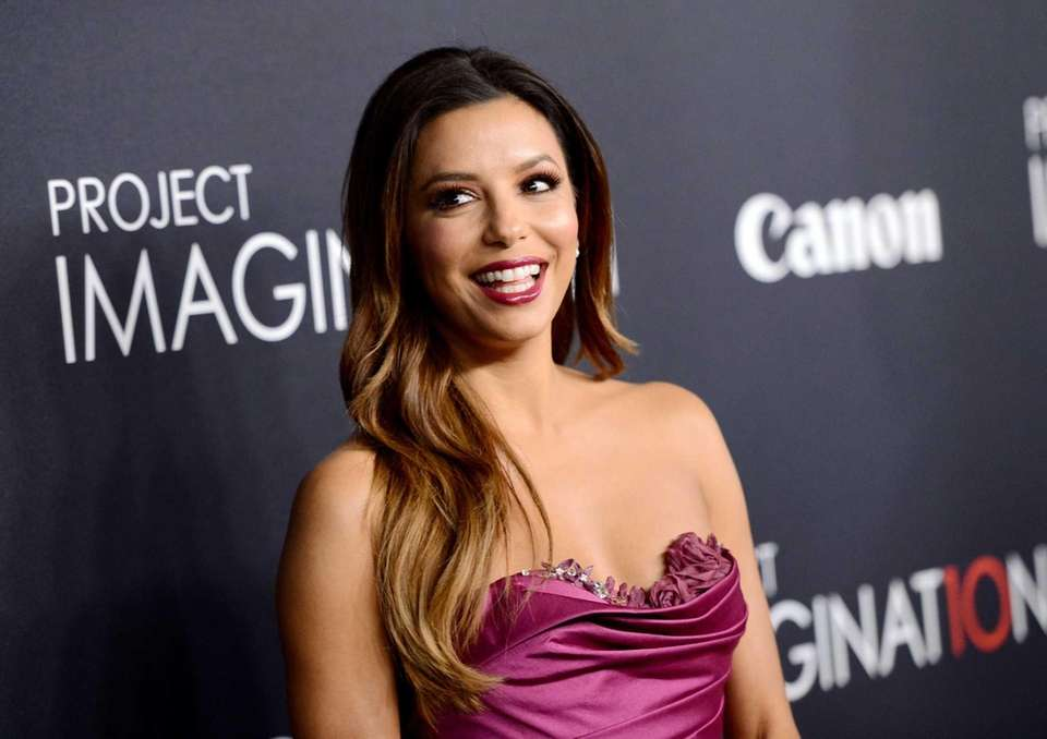 Actress Eva Longoria attends the global premiere of
