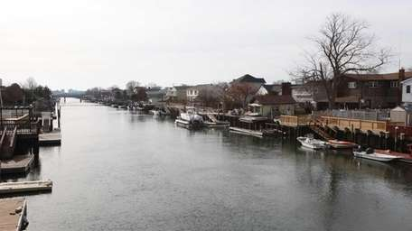 Waterfront homes are the norm in Island Park,