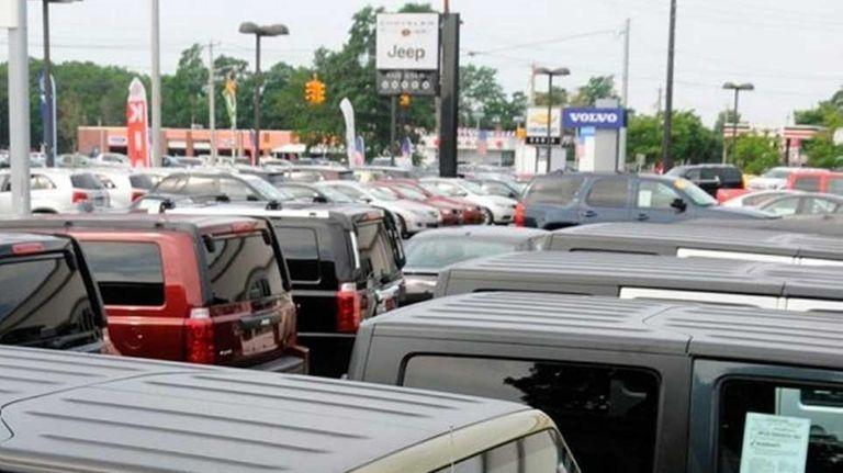 Dealer Mark Calisi, whose Eagle Auto Mall retails