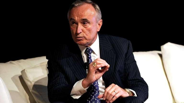 Bill Bratton attends the Wired business conference in