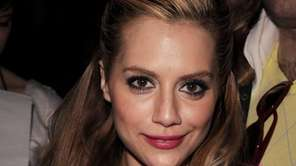 Actress Brittany Murphy attends the Monique Lhuillier 2008