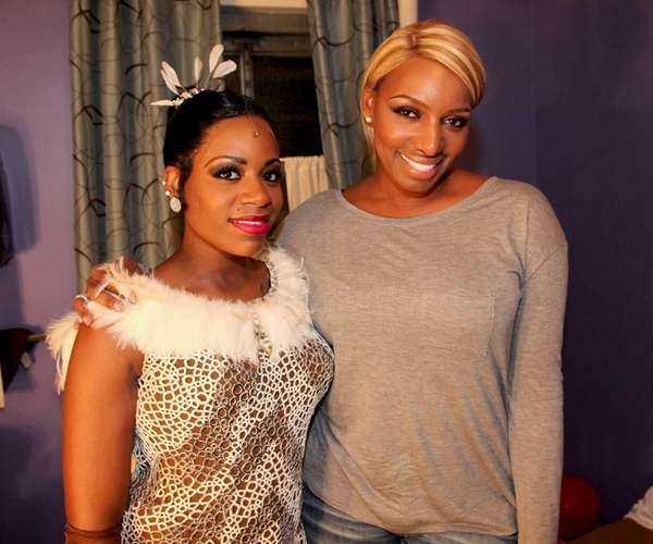 (L-R) Fantasia and NeNe Leakes attend Design Duo