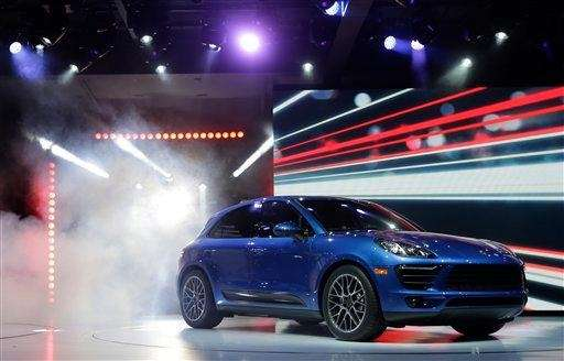 The new Porsche Macan S is introduced at