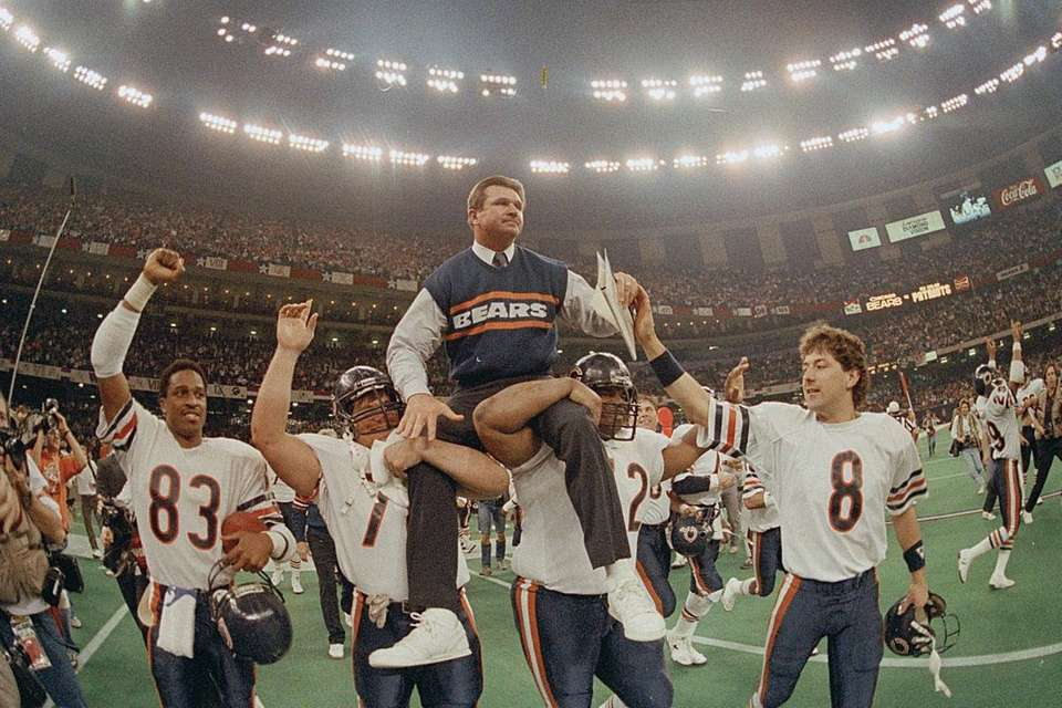 Jan. 26, 1986 Result: Bears 46, Patriots 10