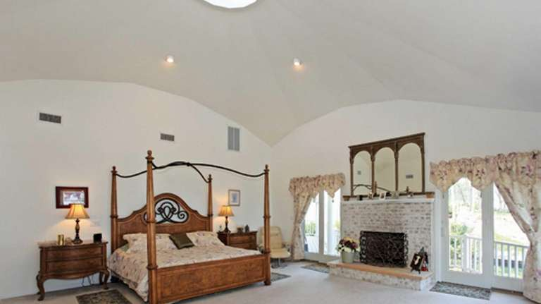 The cupola in the home listed for sale