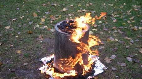 Smoking the turkey in a garbage can didn't