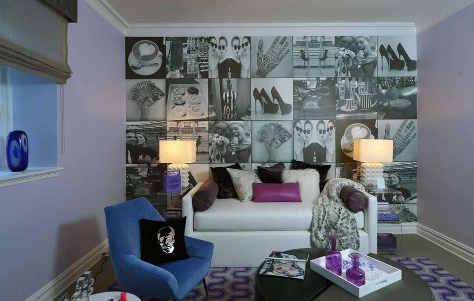 A focal point of Manhattan's Weitzman-Halpern Interior Design's