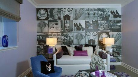 A focal point of Manhattan's Weitzman-Halpern Interior Design's