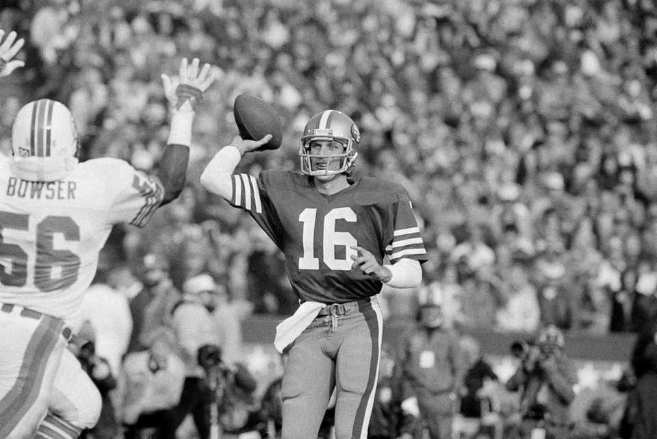 Jan. 20, 1985 Result: 49ers 38, Dolphins 16