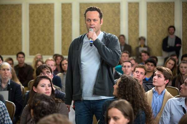 "Vince Vaughn in a scene from ""Delivery Man."""