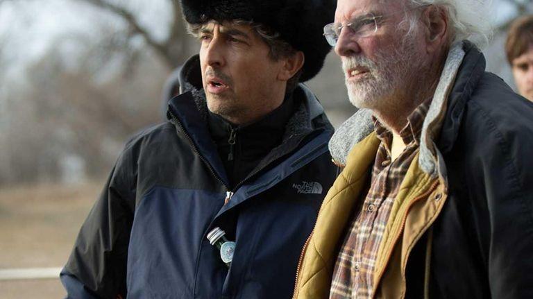 Alexander Payne and Bruce Dern in