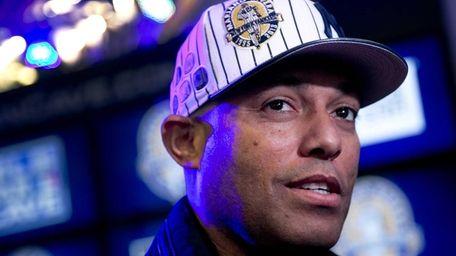 Mariano Rivera promotes New Era baseball caps featuring