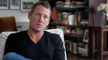 Lance Armstrong in the documentary film,