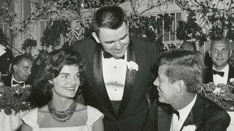 Sen. John F. Kennedy is seen at a