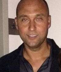 Yankees shortstop Derek Jeter took a quick break