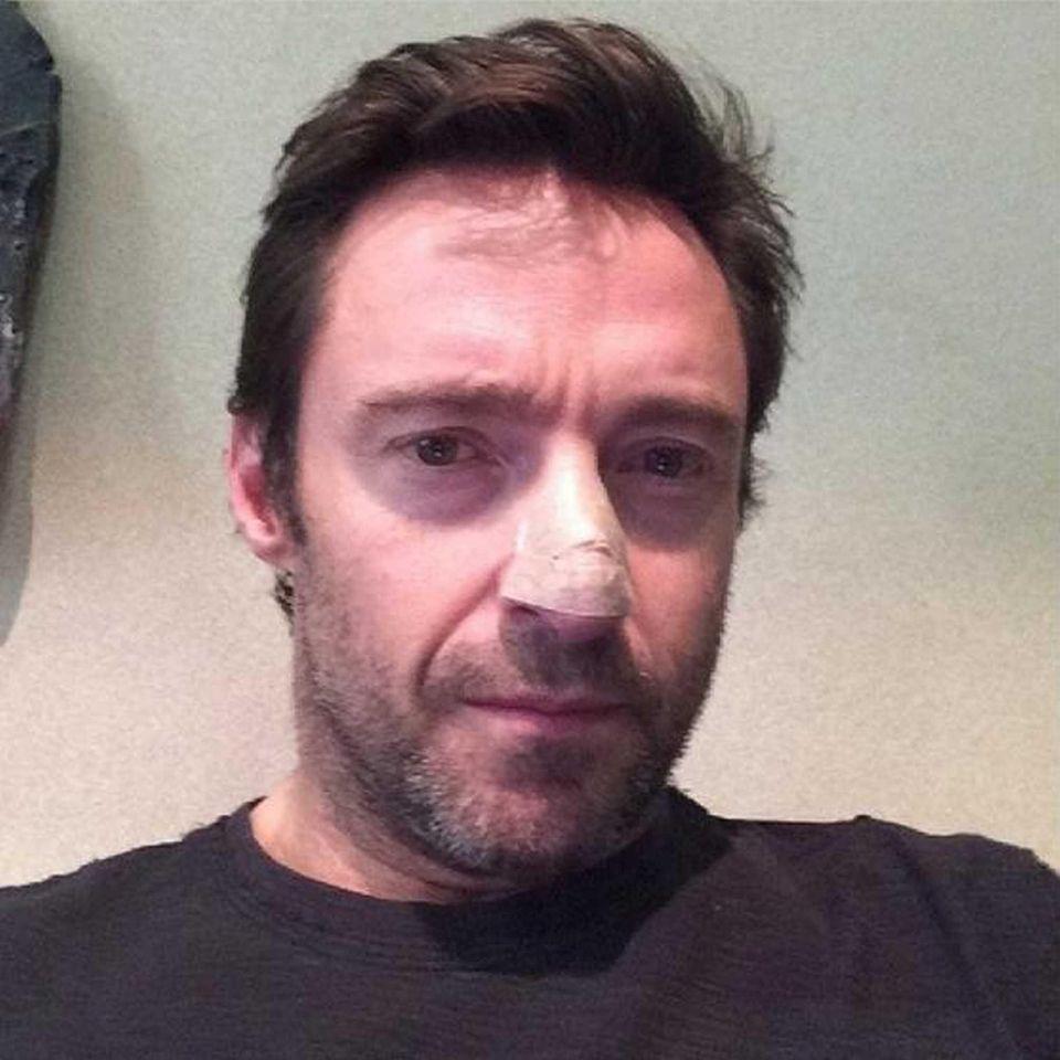 Hugh Jackman posted photos to his social media