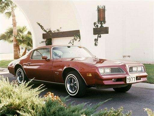 The 1977 Firebird visually differentiated itself from the