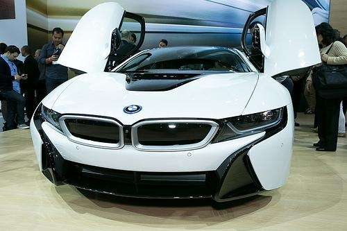If you think the BMW i8 looks dramatic