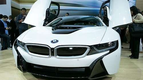 BMW I8 Electric Car Might Be Most Futuristic Design On Market