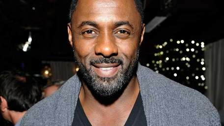 Idris Elba attends the Weinstein Company's holiday party